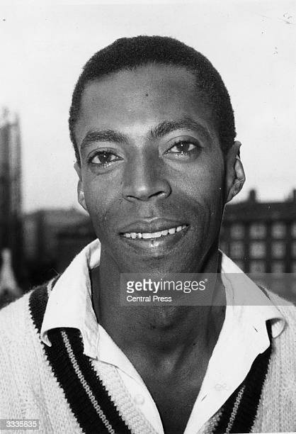West Indies bowler, and cousin of Clive Lloyd, Lance Gibbs.