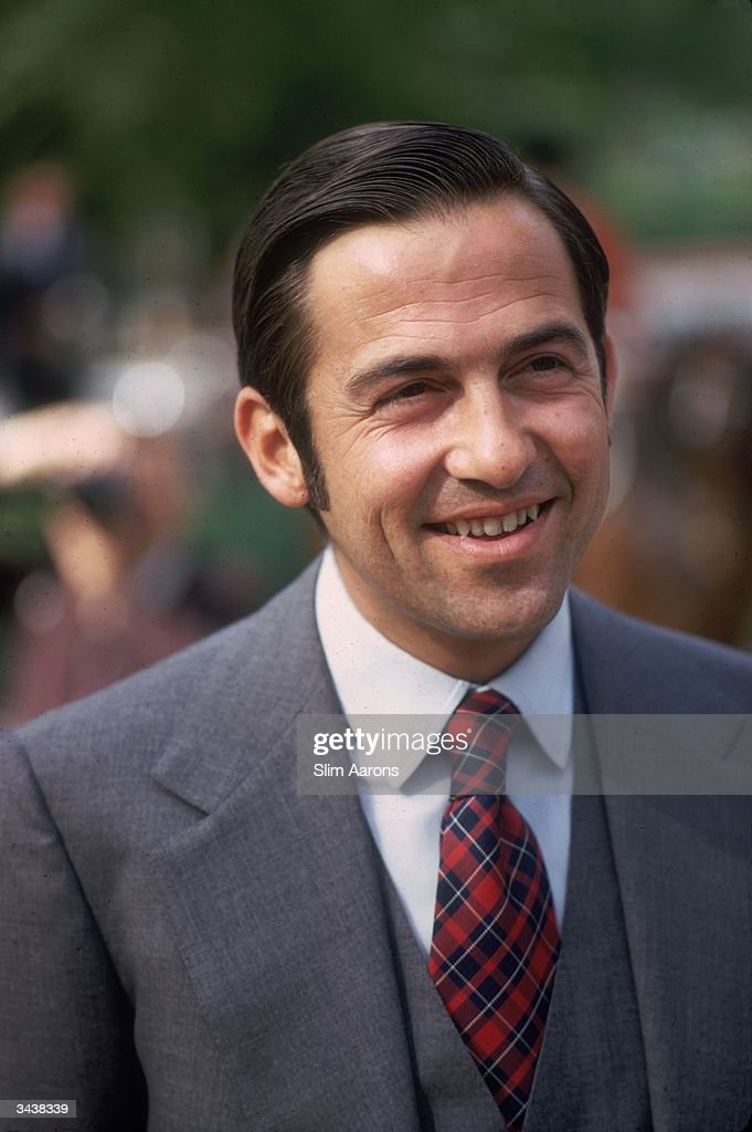 Ex-King Constantine of Greece at a horse show in Rome, where he has lived since fleeing Greece in 1967.