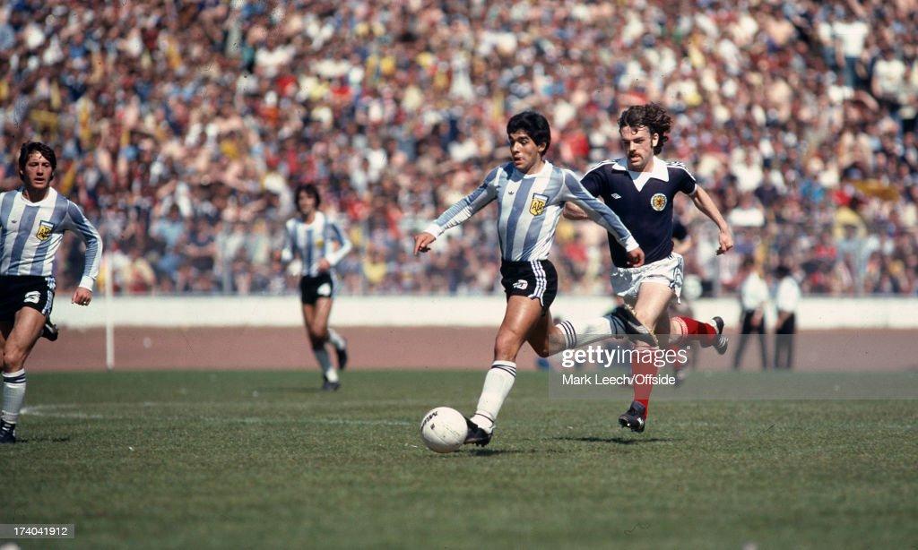 Scotland v Argentina 1979 : News Photo