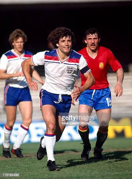 18 June 1980 Euro football Championships England v Spain England striker Kevin Keegan
