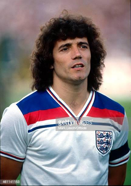 15 June 1980 UEFA European Championships Italy v England England captain Kevin Keegan