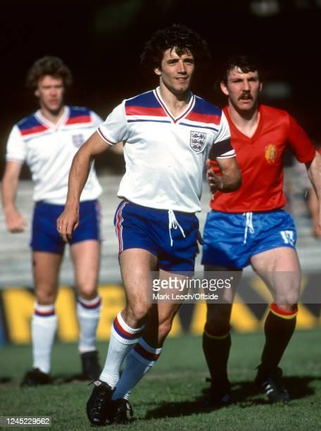 June 1980 - UEFA European Football Championships - Group B - England v Spain - Kevin Keegan of England -