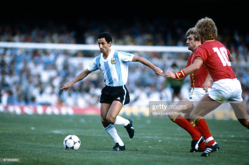 Osvaldo Ardiles of Argentina