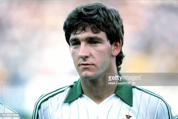 FIFA World Cup Northern Ireland v Yugoslavia Norman Whiteside of Northern Ireland before the match in which he became the youngest ever player to...