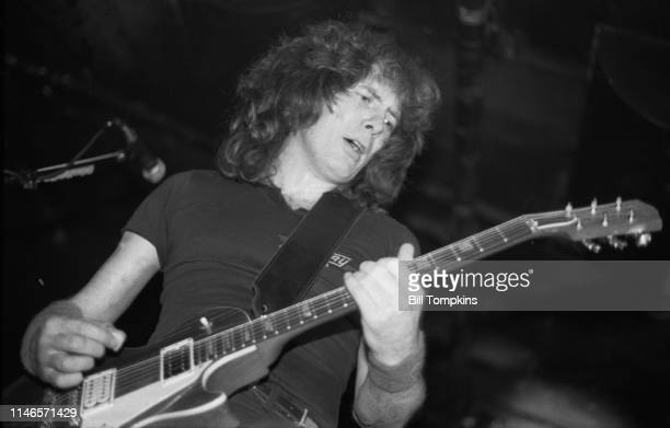 Fast Eddie Clark lead guitar for FastWay June 1983 in New York City