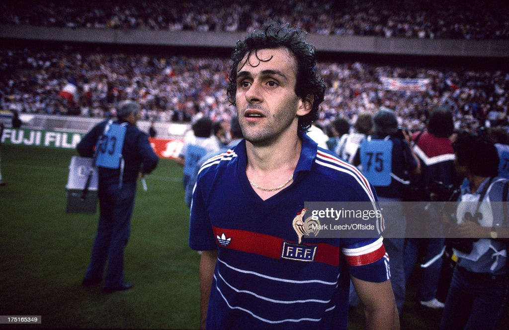 Michel Platini 1984 : News Photo
