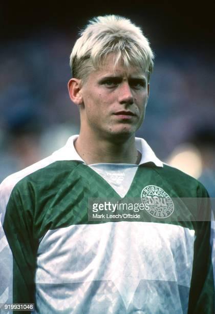 776658275f9 17 June 1988 Cologne UEFA Euro Championships Italy v Denmark Danish  goalkeeper Peter Schmeichel