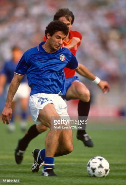 UEFA European Football Championships Italy v Spain Gianluca Vialli