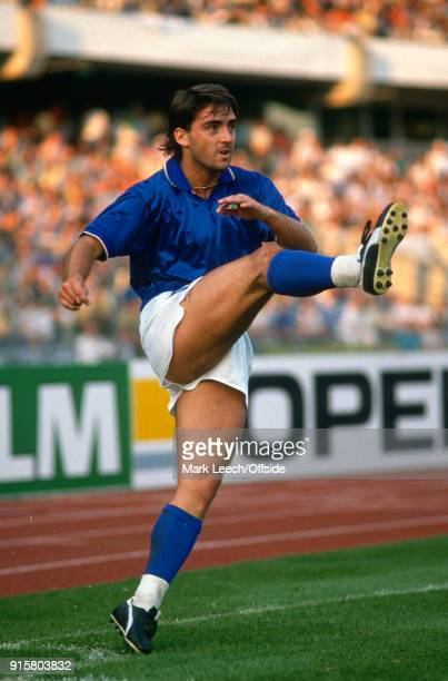 UEFA European Football Championships Italy v Spain Roberto Mancini
