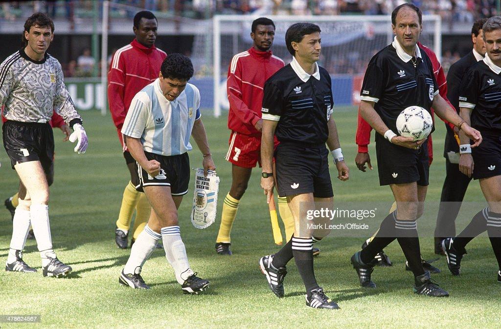 FIFA World Cup - Argentina v Cameroon : News Photo