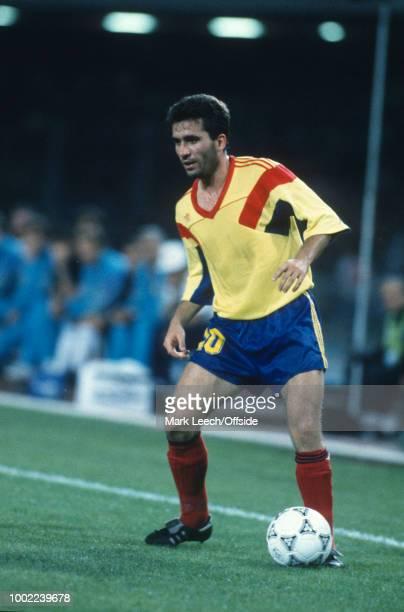 18 June 1990 Naples FIFA World Cup Argentina v Romania Gheorghe Hagi of Romania
