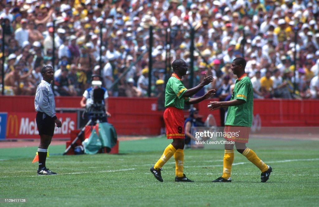 Brazil v Cameroon : News Photo