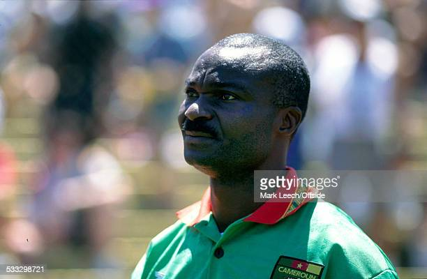28 June 1994 Fifa World Cup Russia v Cameroon Roger Milla of Cameroon