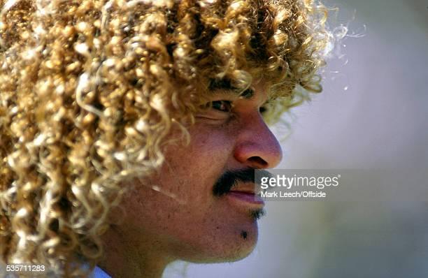 26 June 1994 Fifa World Cup Switzerland v Colombia Carlos Valderrama of Colombia