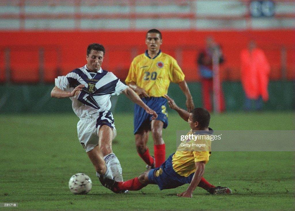 Scotland v Colombia : News Photo