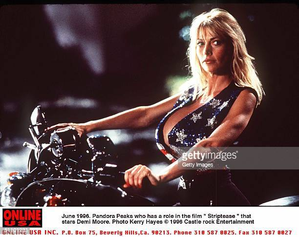 June 1996 Pandora Peaks Who Has A Role In The Film Striptease Starring Demi Moore