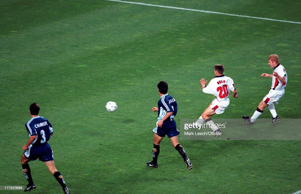 Fifa World Cup 1998 : News Photo