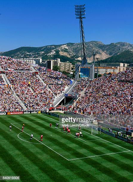 June 1998 - FIFA World Cup - England v Tunisia - A general view of the Stade Velodrome with mountains in the background.