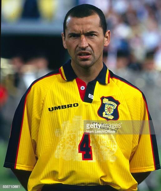 16 June 1998 FIFA World Cup Scotland v Norway Colin Calderwood of Scotland