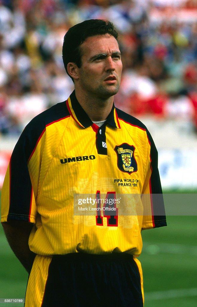 Scotland v Norway 1998 Fifa World Cup : News Photo