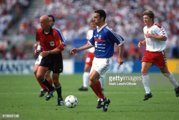 24 June 1998 World Cup 1998 Football France v Denmark Youri Djorkaeff of France