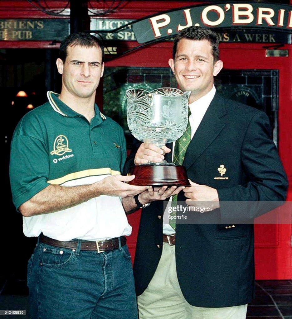 Launch of Lansdowne Cup - 1999 Australia Tour : News Photo