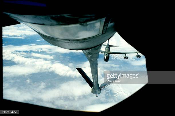 June 20 1980 During a nuclear exercise a B 52 bomber rendezvous with a Boeing KC 135 Stratotanker to take on fuel and continue its Nuclear Mission