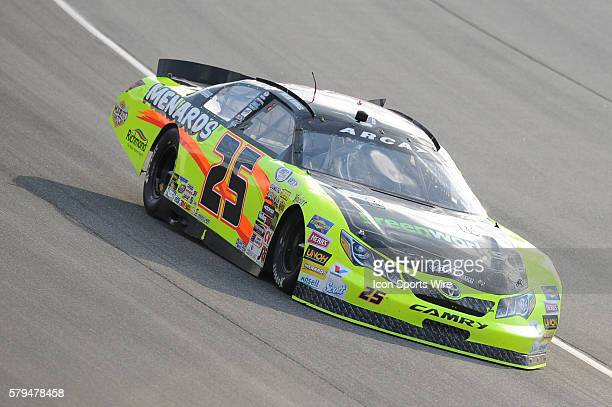 Frank Kimmel during the SCOTT 150 ARCA Series Race at Chicagoland Speedway in Joliet IL