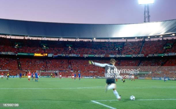 June 2000 - Euro Championships - Denmark v Netherlands - A general view of the Feijenoord Stadium.