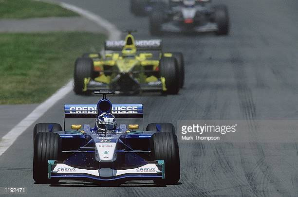 Sauber driver Kimi Raikkonen of Finland in action during the Formula One Canadian Grand Prix at Montreal Canada Mandatory Credit Mark Thompson...