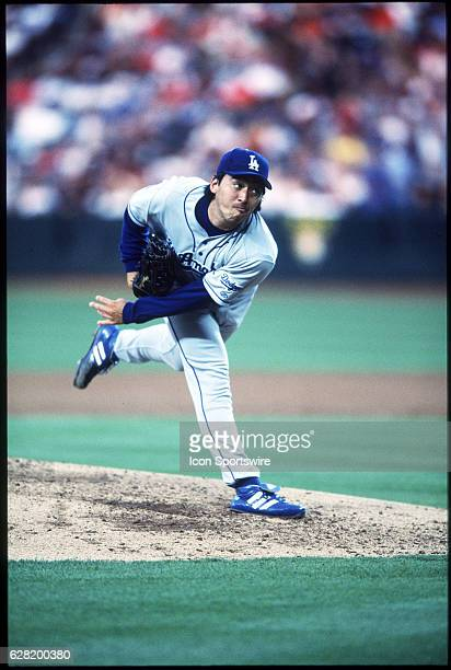Kazuhisa Ishii of the Los Angeles Dodgers during the Dodgers' 70 loss to the Anaheim Angels at Edison Field in Anaheim CA