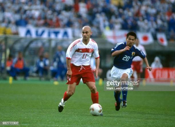 18 June 2002 Rifu FIFA World Cup Japan v Turkey Hasan Sas of Turkey