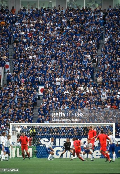 04 June 2002 Saitama FIFA World Cup Japan v Belgium a general view of Saitama Stadium as spectators watch the match