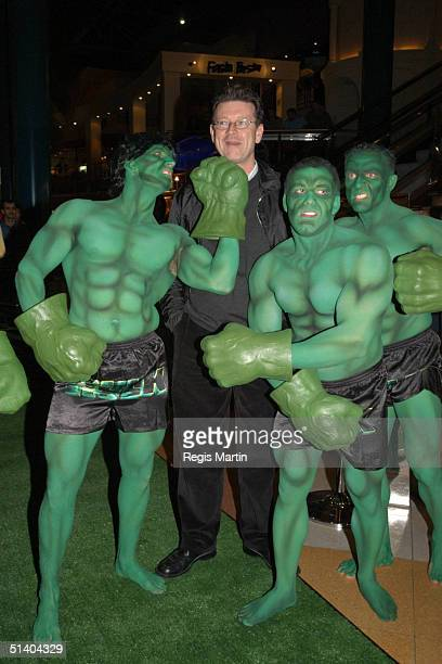 23 June 2003 RED SYMONS arrives at the Melbourne's premiere of the Movie Hulk at the Jam Factory in Melbourne Victoria Australia