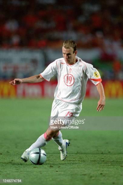 June 2004 - Euro 2004 - Quarter Final - Sweden v Netherlands - Arjen Robben of the Netherlands. -