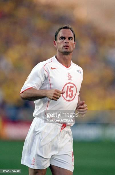 June 2004 - Euro 2004 - Quarter Final - Sweden v Netherlands - Frank De Boer of the Netherlands. -