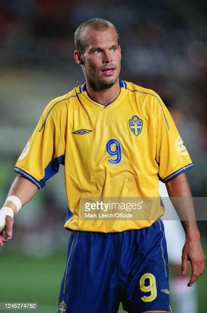 June 2004 - Euro 2004 - Quarter Final - Sweden v Netherlands - Fredrik Freddie Ljungberg of Sweden. -