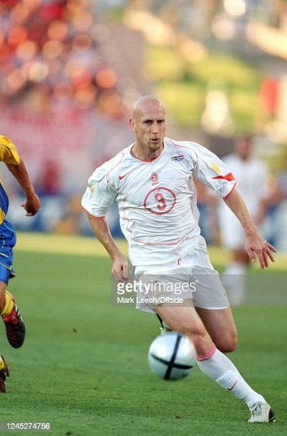 June 2004 - Euro 2004 - Quarter Final - Sweden v Netherlands - Jaap Stam of the Netherlands. -