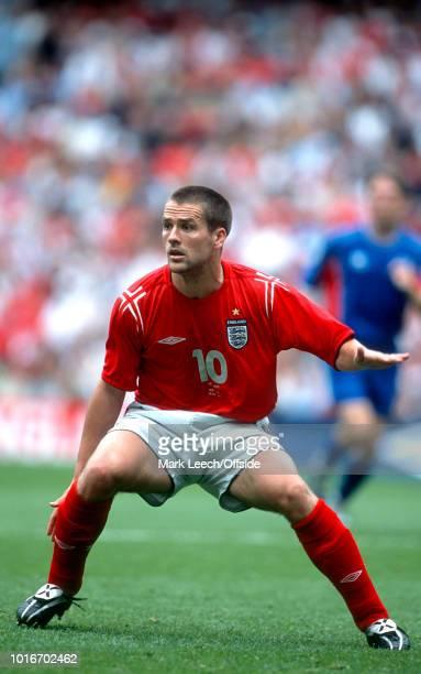June 2004 - FA Summer Tournament - England v Iceland - Michael Owen of England -