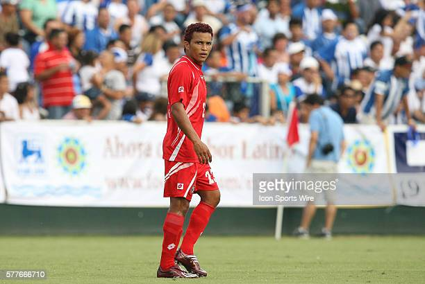 Amilcar Henriquez The Honduras Men's National Team played the Panama Men's National Team at the WakeMed Stadium in Cary North Carolina in an...