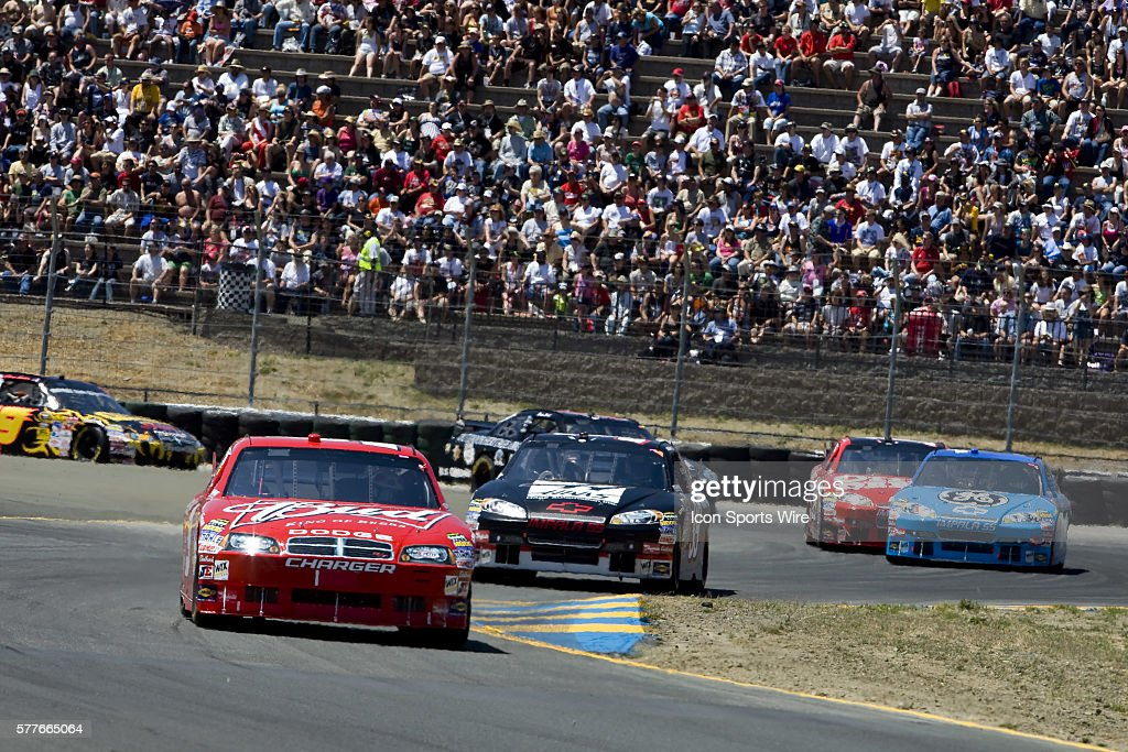 Kasey Khane Races Off Turn Seven At Infineon Raceway For The Running Of The  Toyota Save