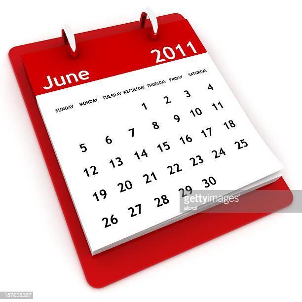 Calendário série de Junho de 2011