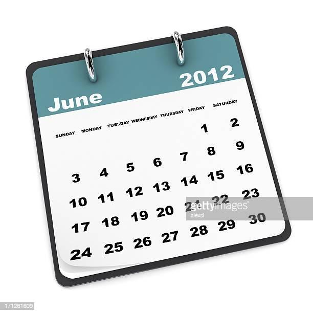 Calendário de Junho de 2012