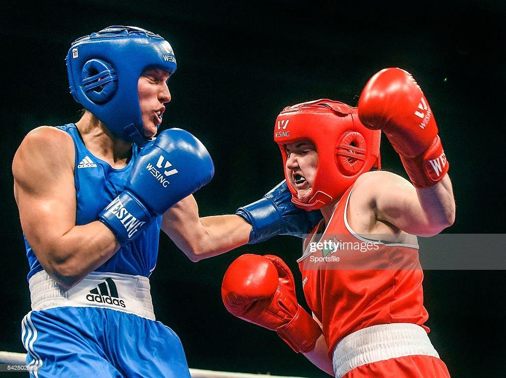 2014 European Women's Boxing Championships Semi-Finals : News Photo