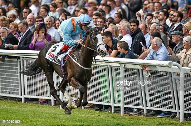 Kool Kompany with Fran Berry up on their way to winning the GAIN Railway Stakes Curragh Racecourse The Curragh Co Kildare Picture credit Barry Cregg...