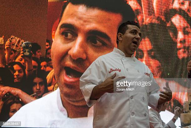1 June 2015 Belgrade Republic of Serbia Buddy Valastro of Carlo's Bakery and TLC's television reality show Cake Boss makes a live appearance at the...
