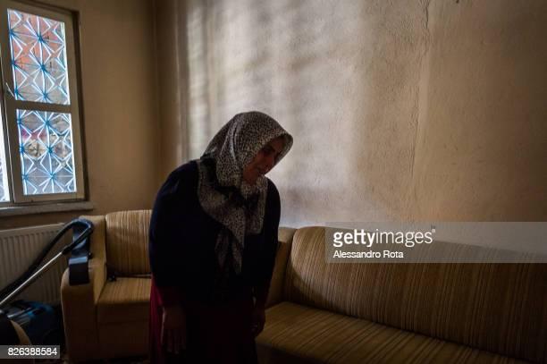 10 June 2015 Ergani Turkey Hanim Kaya mother of Mutlu Kaya remembers moments of joy with her daughter in the house where Mutlu was shot in the head...