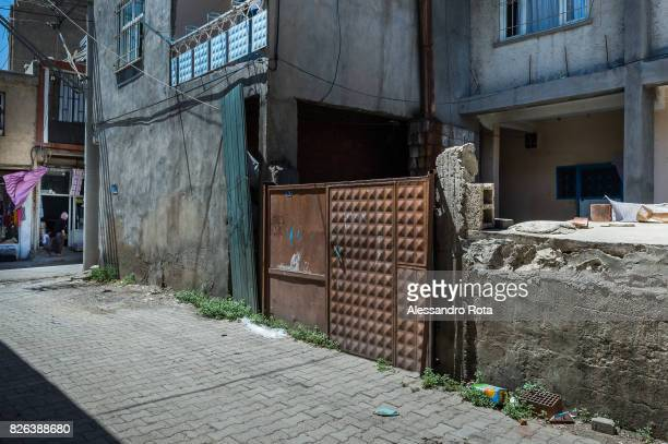 10 June 2015 Ergani Turkey The house of the Kayau2019s family Mutlu Kaya was shot in the head on the night of the 17th of May 2015 The victim of the...