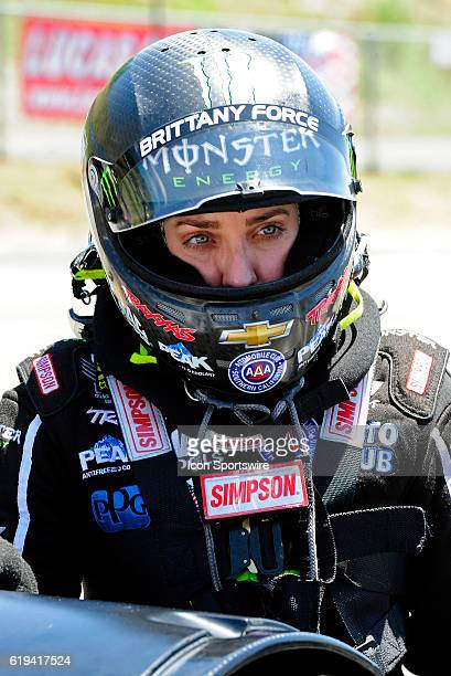 18 June 2016 | Brittany Force John Force Racing NHRA Top Fuel Dragster at the Thunder Valley Nationals at Bristol Motor Speedway in Bristol Tennessee