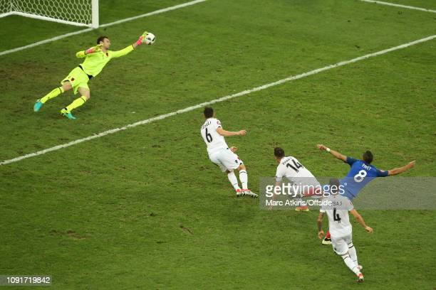 June 2016 - UEFA EURO 2016 - Group A - France v Albania - Dimitri Payet of France scores their 2nd goal - .